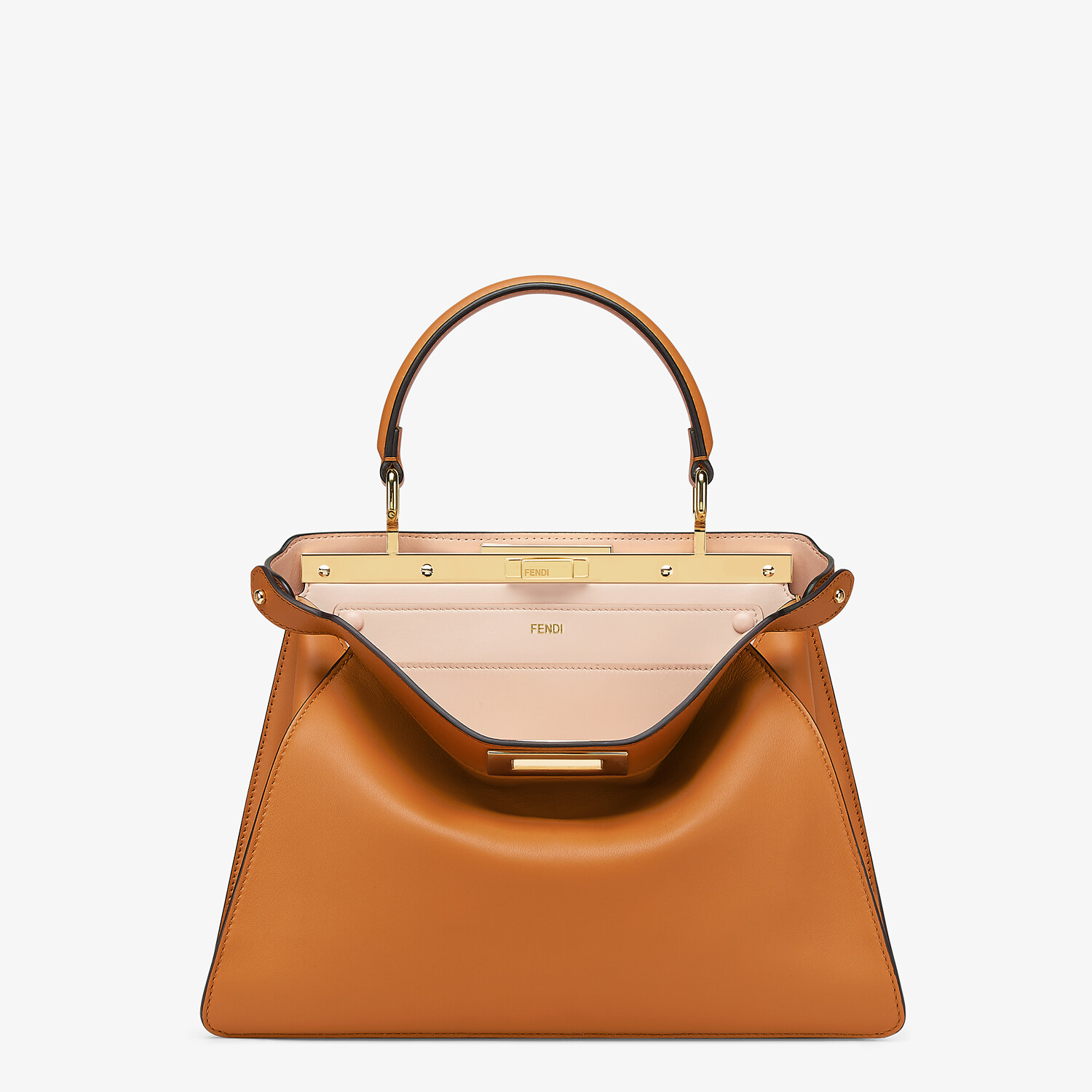 FENDI PEEKABOO ISEEU MEDIUM -  Brown leather bag - view 1 detail