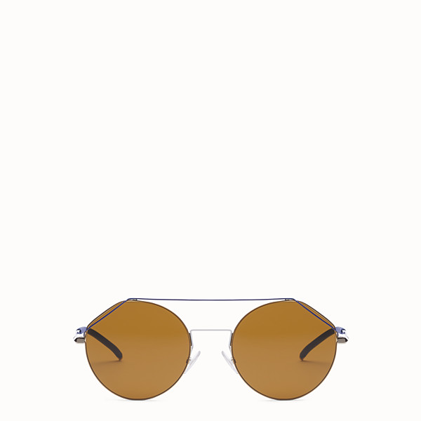 FENDI FENDIFIEND - Gold and blue sunglasses - view 1 small thumbnail