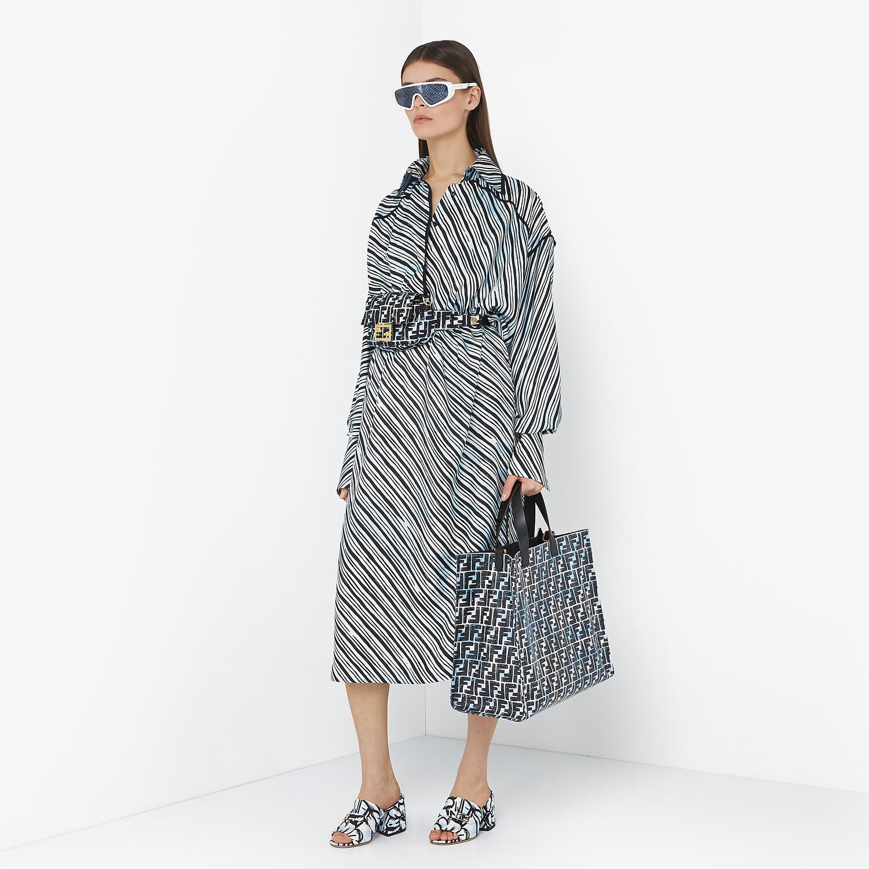 FENDI SLIDES - Fendi Roma Joshua Vides fabric Promenades - view 5 detail