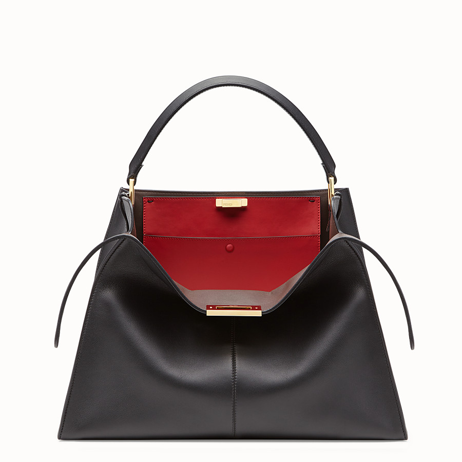 1206719d2a4e Black leather bag - PEEKABOO X-LITE | Fendi