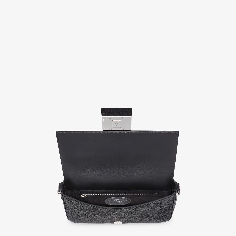 FENDI BAGUETTE - Black calfskin bag - view 5 detail