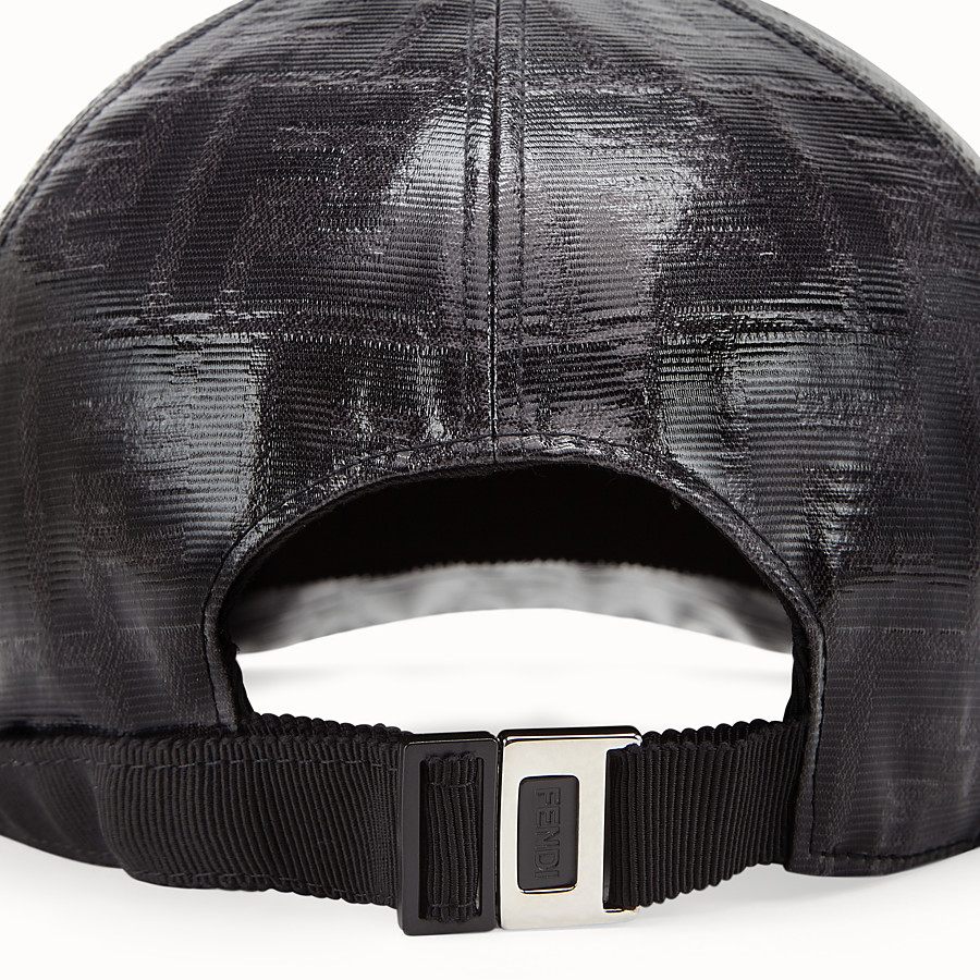 FENDI HAT - Black fabric baseball cap - view 2 detail