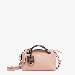 FENDI BY THE WAY MINI - Pink leather small Boston bag - view 1 thumbnail