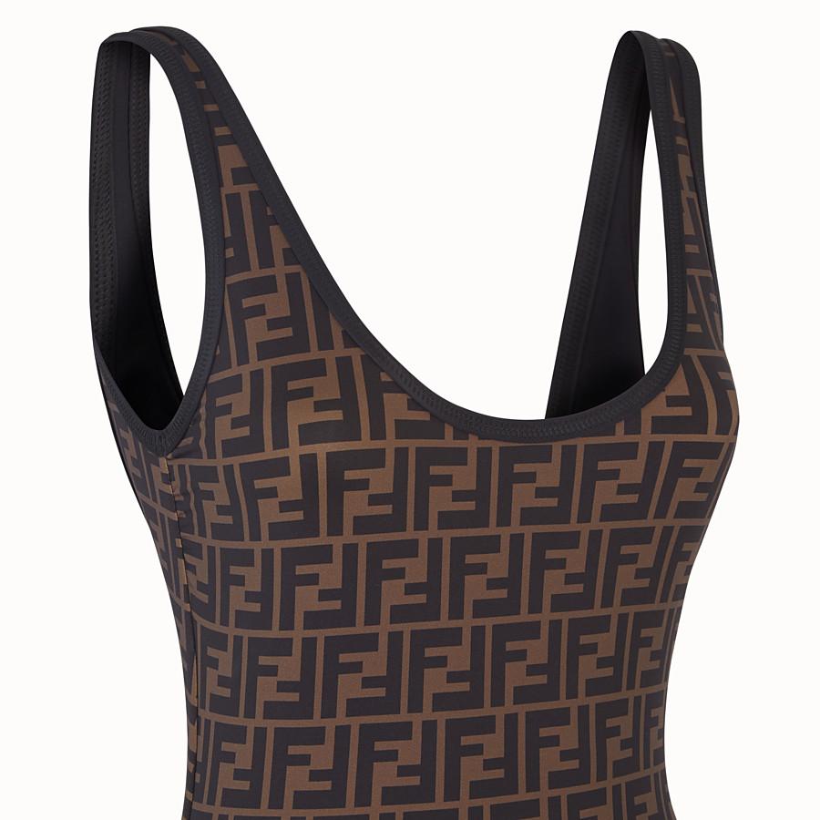 FENDI ONE-PIECE SWIMSUIT - Beige Lycra® swimsuit - view 3 detail
