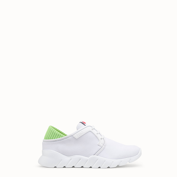 FENDI SNEAKERS - White tech fabric sneakers - view 1 small thumbnail