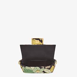FENDI BAGUETTE - Green nylon bag - view 6 thumbnail