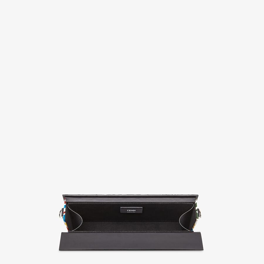 FENDI HORIZONTAL BOX - Multicolour FF Vertigo leather bag - view 4 detail