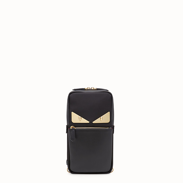 FENDI BELT BAG - Black nylon one-shoulder backpack - view 1 small thumbnail