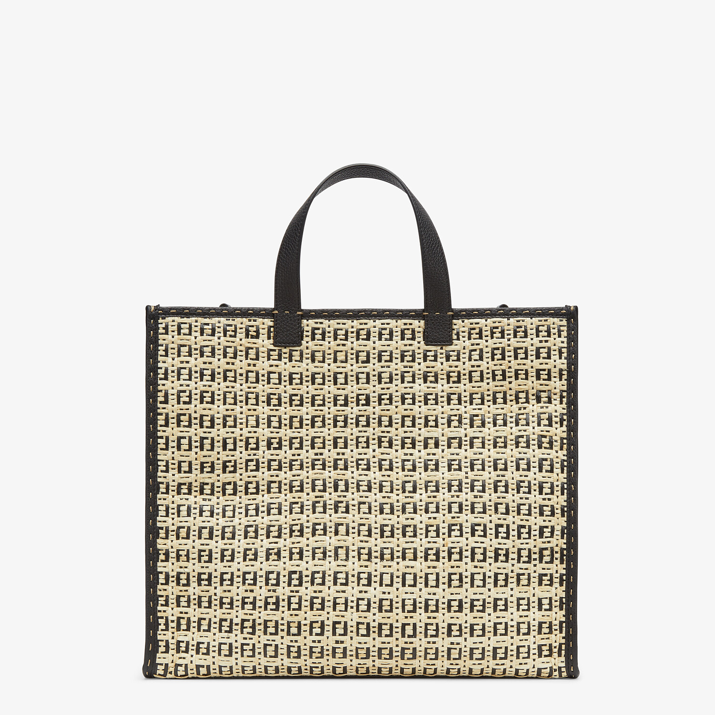 FENDI SHOPPER - Natural straw bag - view 1 detail