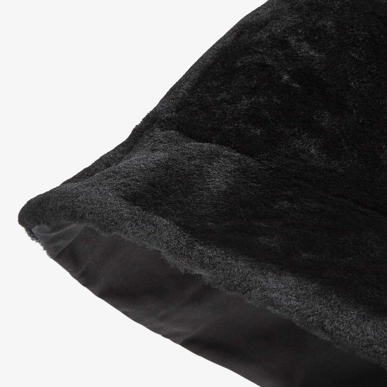 FENDI HAT - Black wool bucket hat - view 2 detail