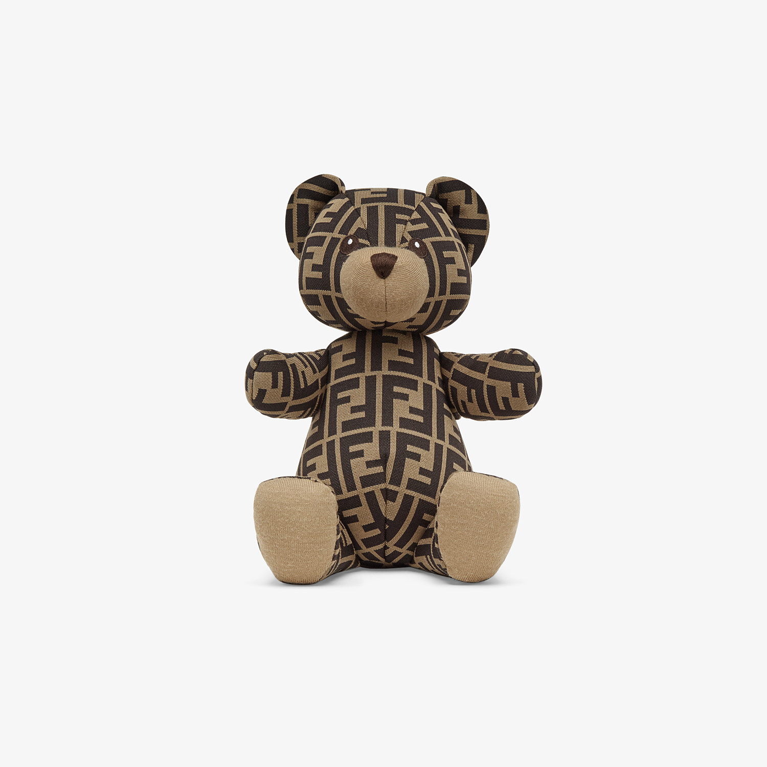 FENDI JERSEY FENDI BEAR WITH LOGO - FF Logo teddy bear - view 1 detail