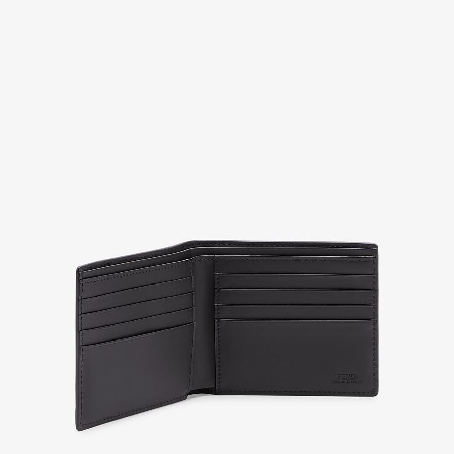FENDI WALLET - Black leather bi-fold - view 3 detail
