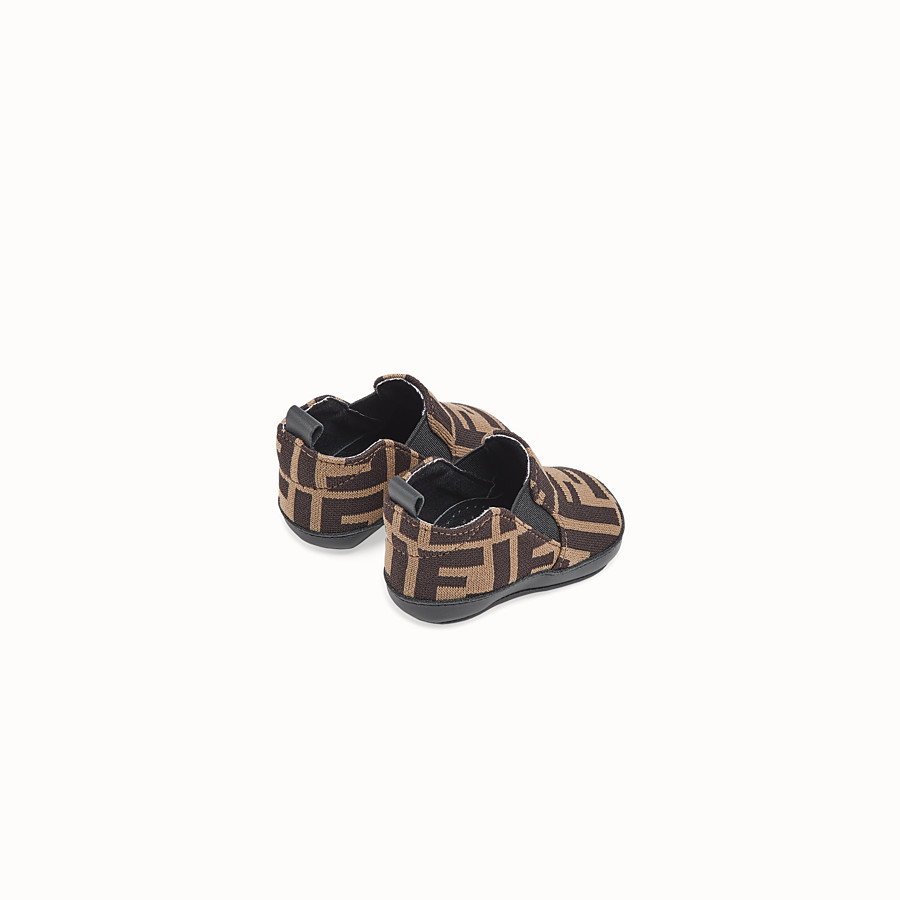 FENDI BABY SHOES - FF logo baby shoes - view 2 detail
