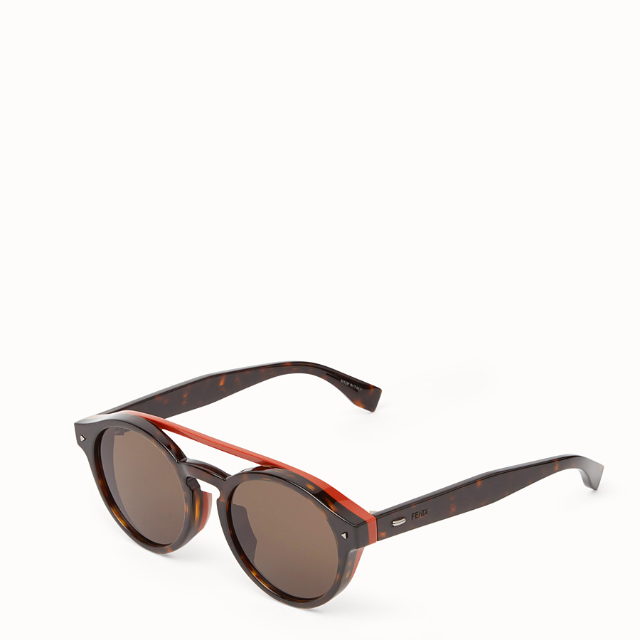 FENDI I SEE YOU - Havana Asian fit sunglasses - view 2 detail