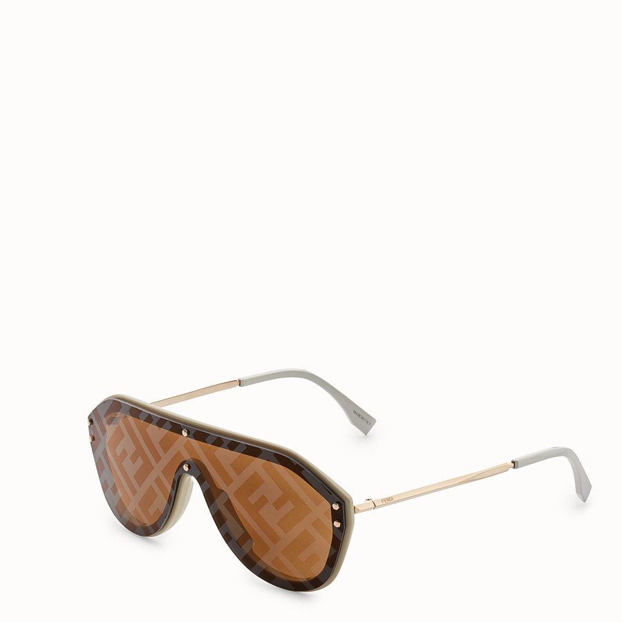 FENDI FENDI FABULOUS - Beige sunglasses - view 2 detail