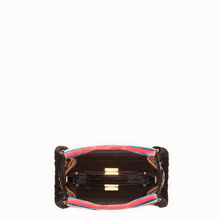 FENDI PEEKABOO MINI - 多色布料手袋 - view 4 detail