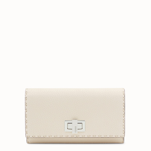 FENDI CONTINENTAL - White leather wallet - view 1 small thumbnail