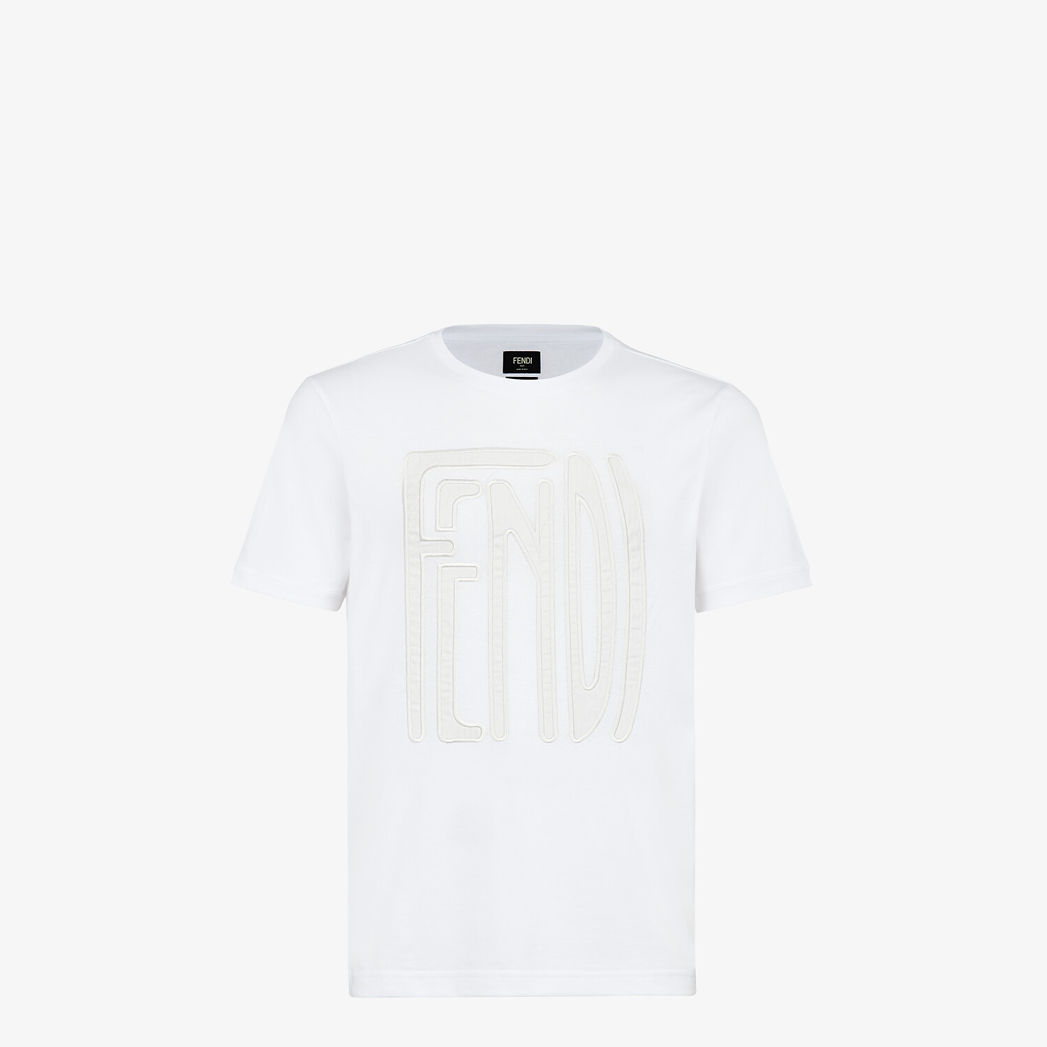 FENDI T-SHIRT - Fendi X Anrealage cotton T-shirt - view 1 detail
