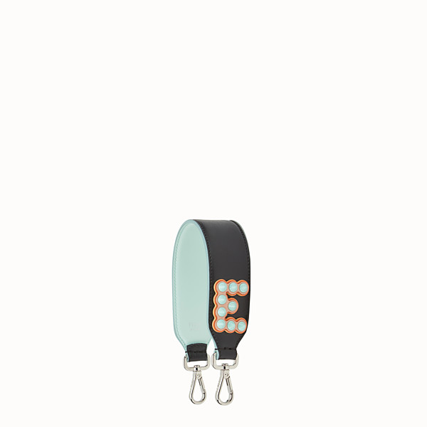 FENDI MINI STRAP YOU - Leather shoulder strap with letter - view 1 small thumbnail