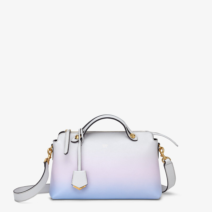 FENDI BY THE WAY MEDIUM - Leather Boston bag in graduated colours - view 1 detail