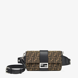 FENDI BAGUETTE - Brown fabric bag - view 1 thumbnail