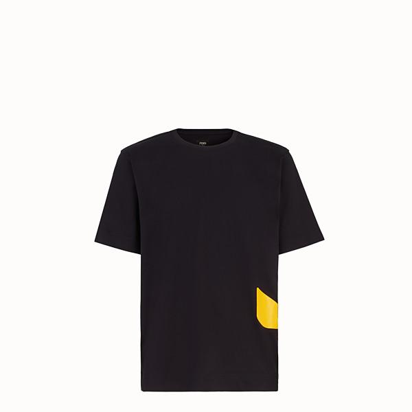 FENDI T-SHIRT - T-Shirt aus Baumwolle in Schwarz - view 1 small thumbnail