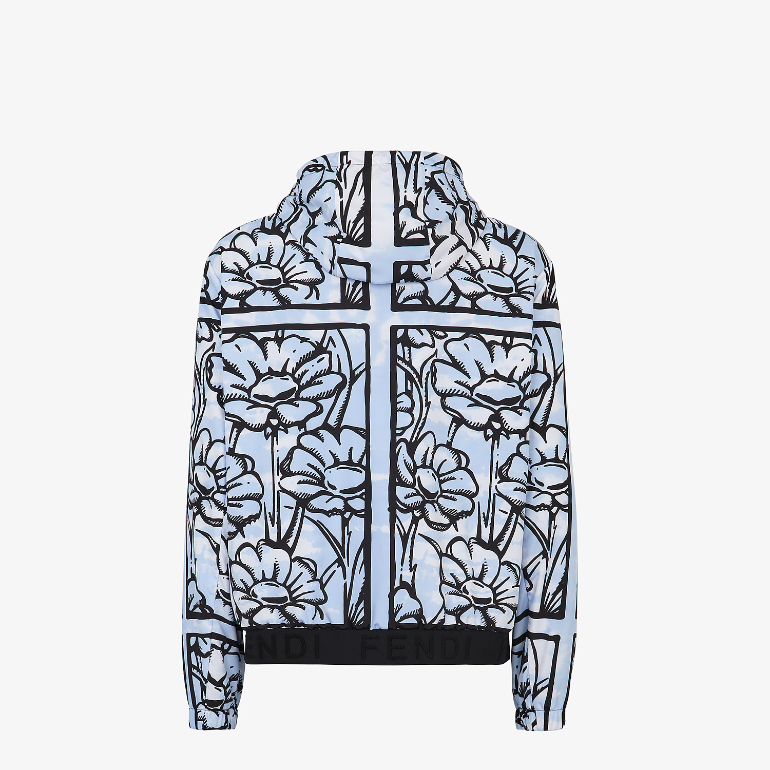 FENDI WINDBREAKER - Fendi Roma Joshua Vides nylon windbreaker - view 2 detail