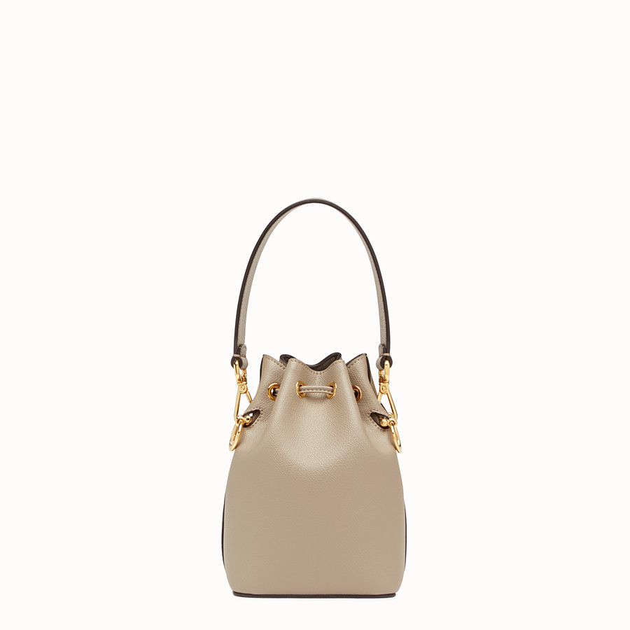 FENDI MON TRESOR - Beige leather mini-bag - view 3 detail