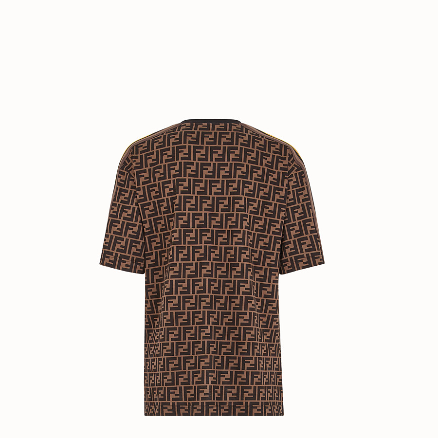 FENDI T-SHIRT - Fendi Roma Amor cotton T-shirt - view 2 detail