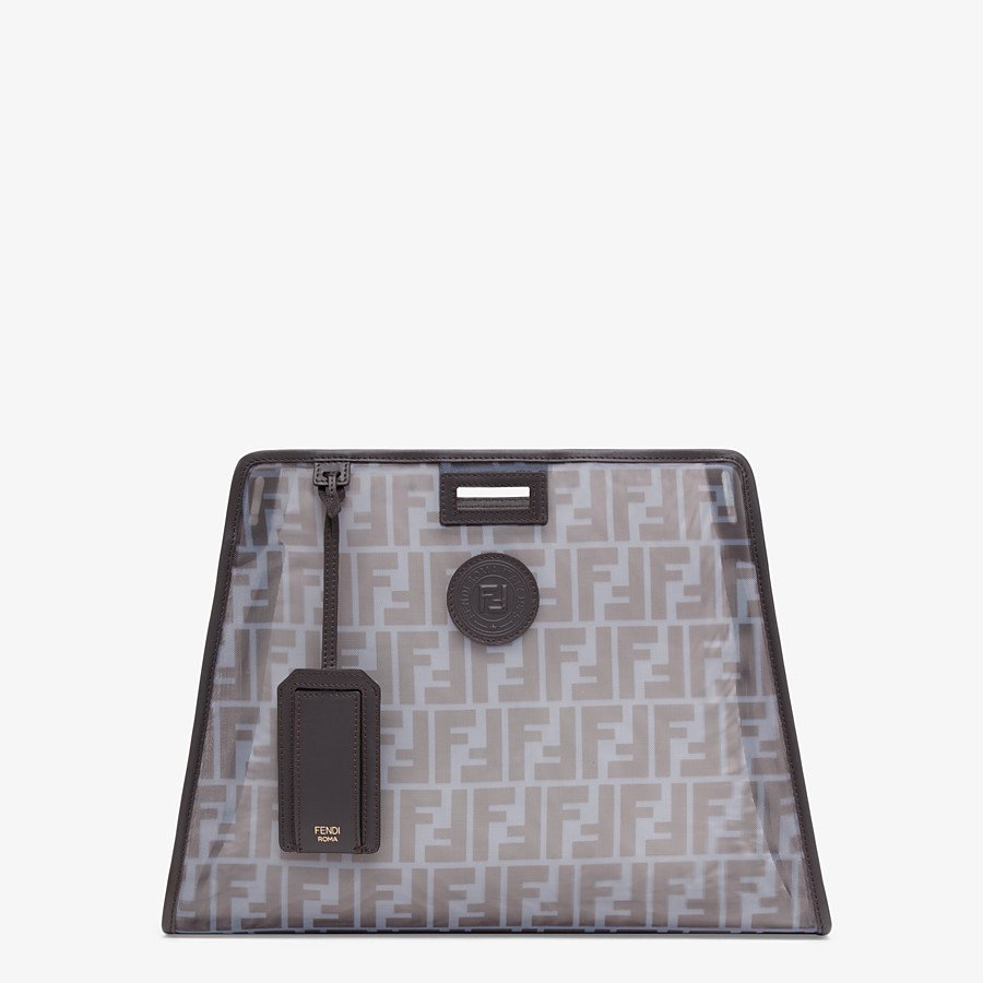 FENDI MEDIUM PEEKABOO DEFENDER - Light blue mesh Peekaboo cover - view 1 detail