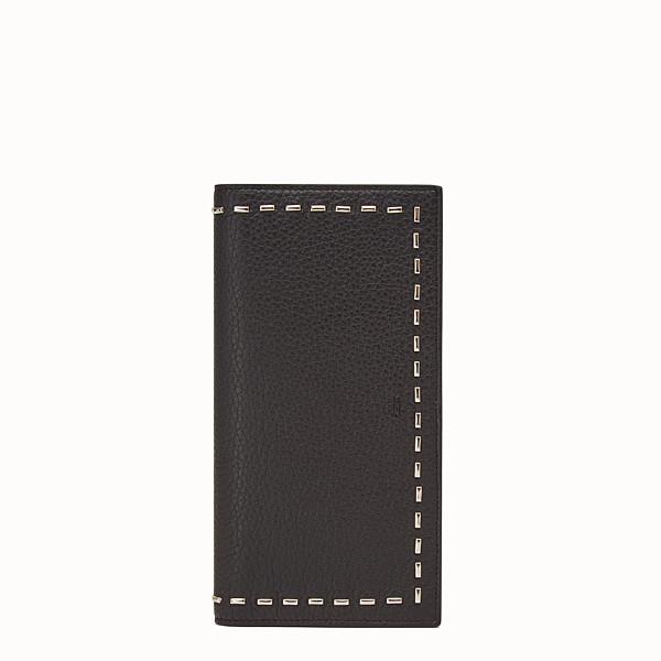 FENDI CONTINENTAL - 長款式,羅馬皮革,綴以金屬縫線 - view 1 小型縮圖