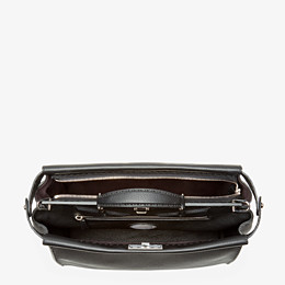 FENDI PEEKABOO ICONIC MEDIUM - Black Selleria bag - view 4 thumbnail
