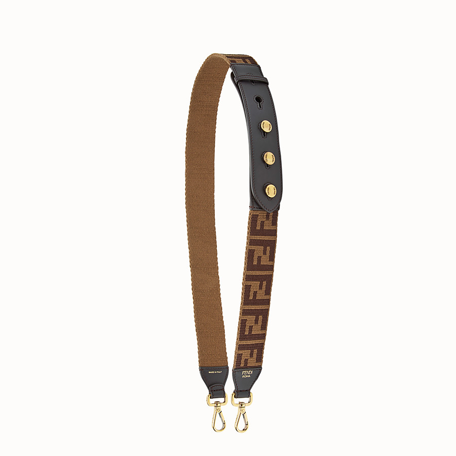 FENDI STRAP YOU - Fabric shoulder strap - view 1 detail