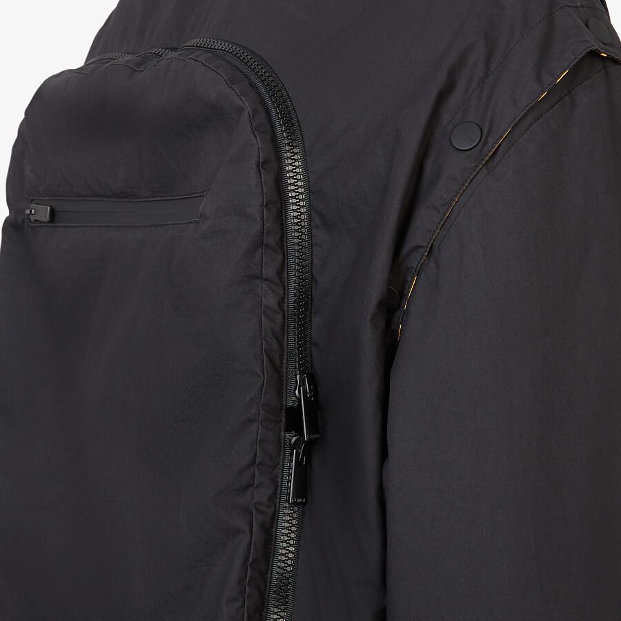 FENDI WINDBREAKER - Multicolour nylon jacket - view 3 detail