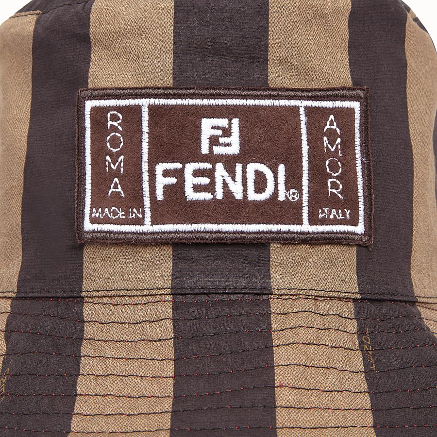 FENDI HAT - Multicolor fabric hat - view 2 detail