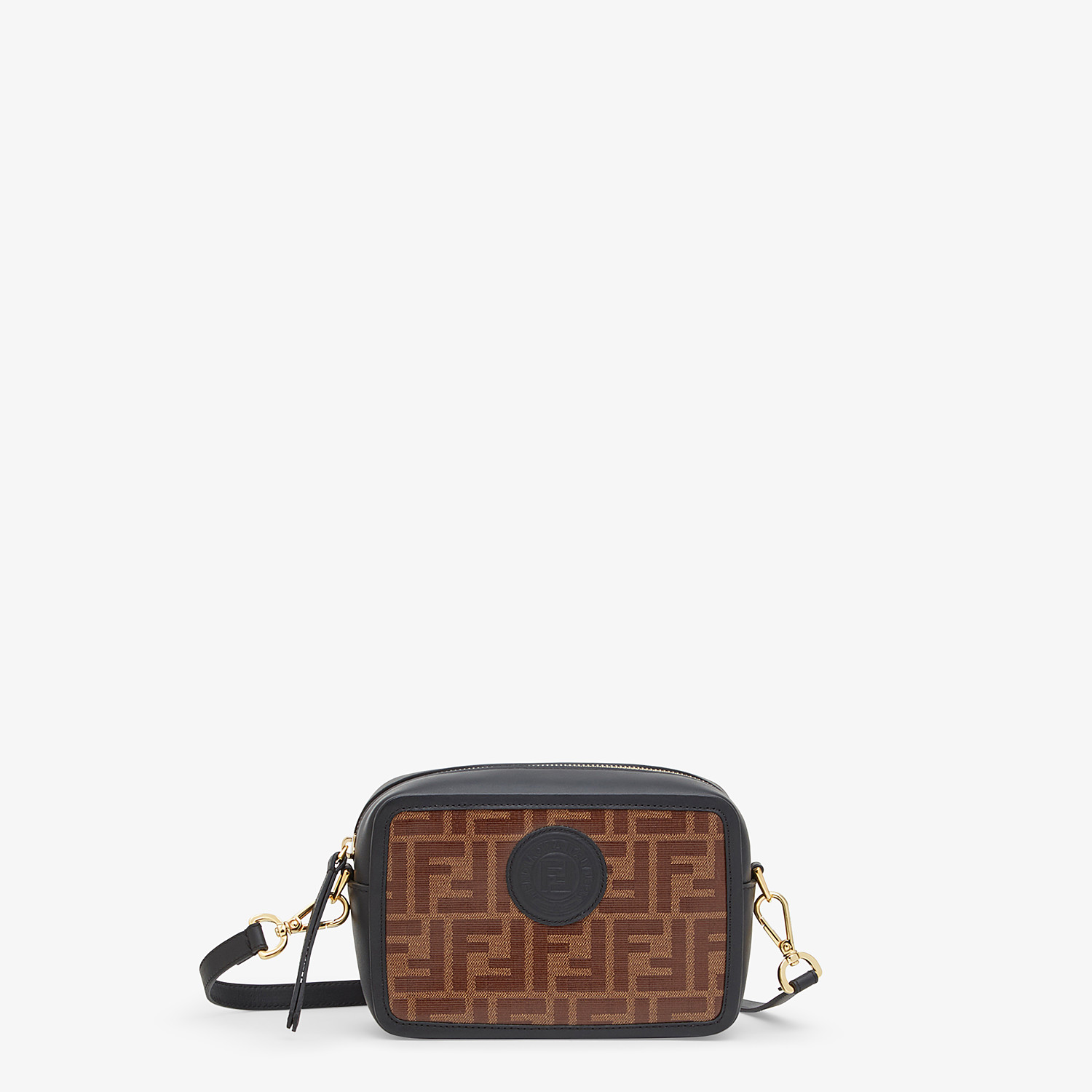 FENDI MINI CAMERA CASE - Multicolor canvas bag - view 1 detail