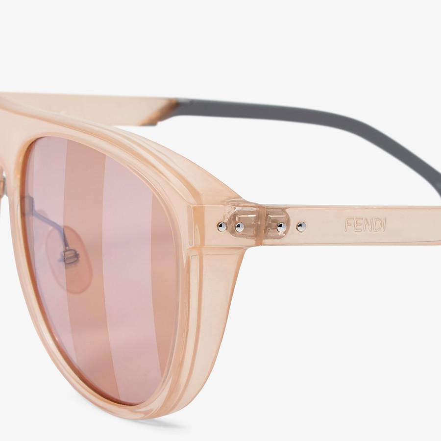 FENDI BOTANICAL FENDI - Pink sunglasses - view 3 detail
