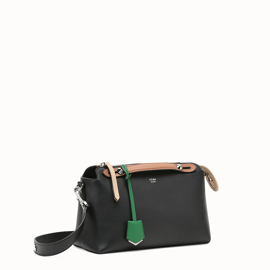 FENDI BY THE WAY REGULAR - Multicolour leather Boston bag - view 2 detail