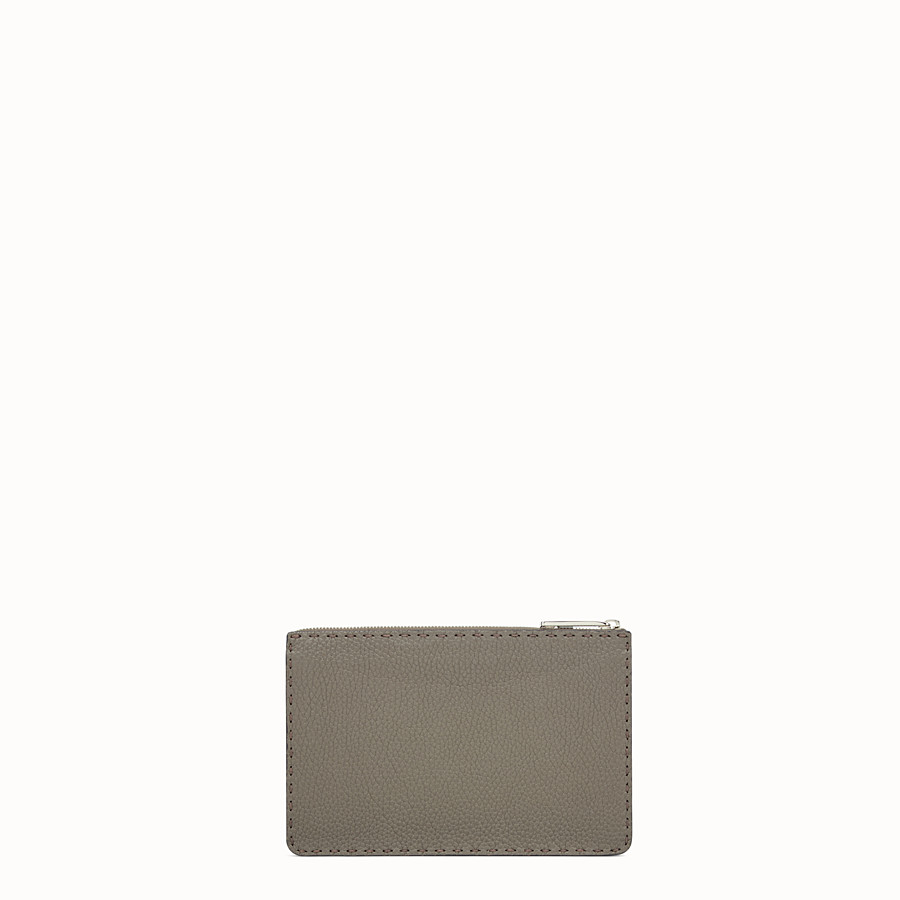 FENDI CLUTCH - Three-tone leather Selleria pouch - view 3 detail