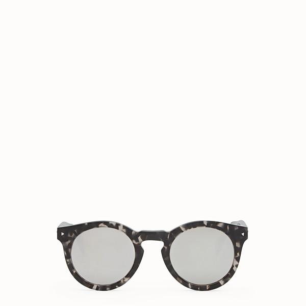 FENDI FENDI SUN FUN - Dark havana sunglasses - view 1 small thumbnail