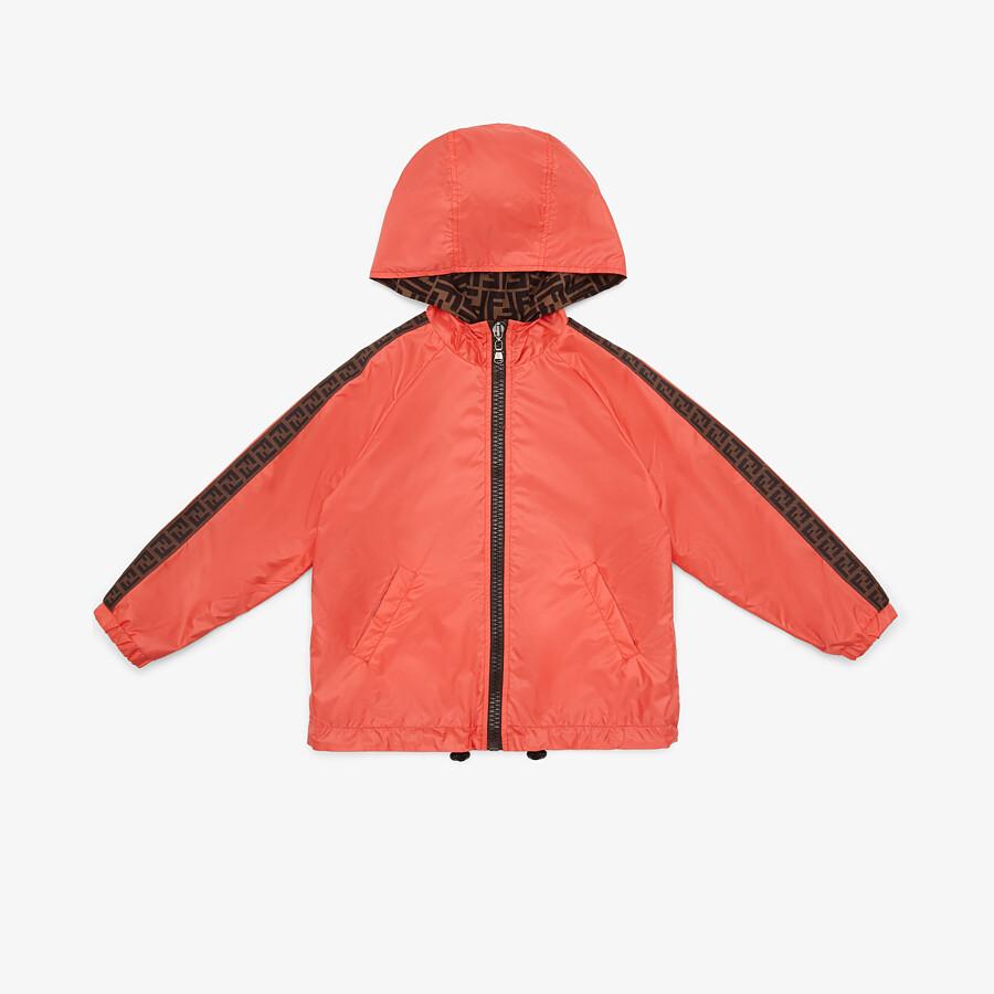 FENDI JACKET - Nylon unisex junior jacket - view 1 detail