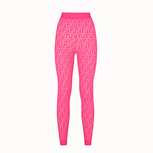 FENDI LEGGINGS - Leggings Fendi Prints On in viscosa - vista 1 thumbnail piccola