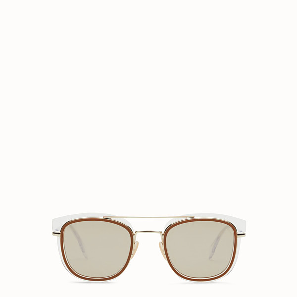 FENDI FENDI GLASS - Sonnenbrille in Transparent und Gold - view 1 small thumbnail