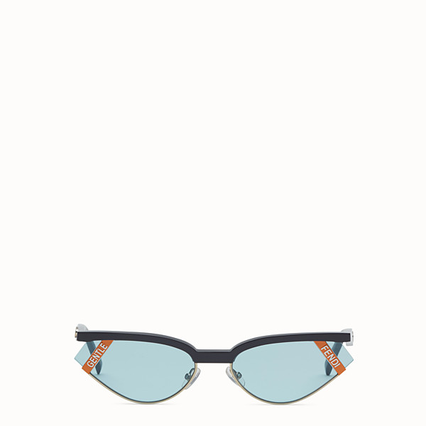 FENDI GENTLE Fendi No. 1 - Grey and light blue sunglasses - view 1 small thumbnail