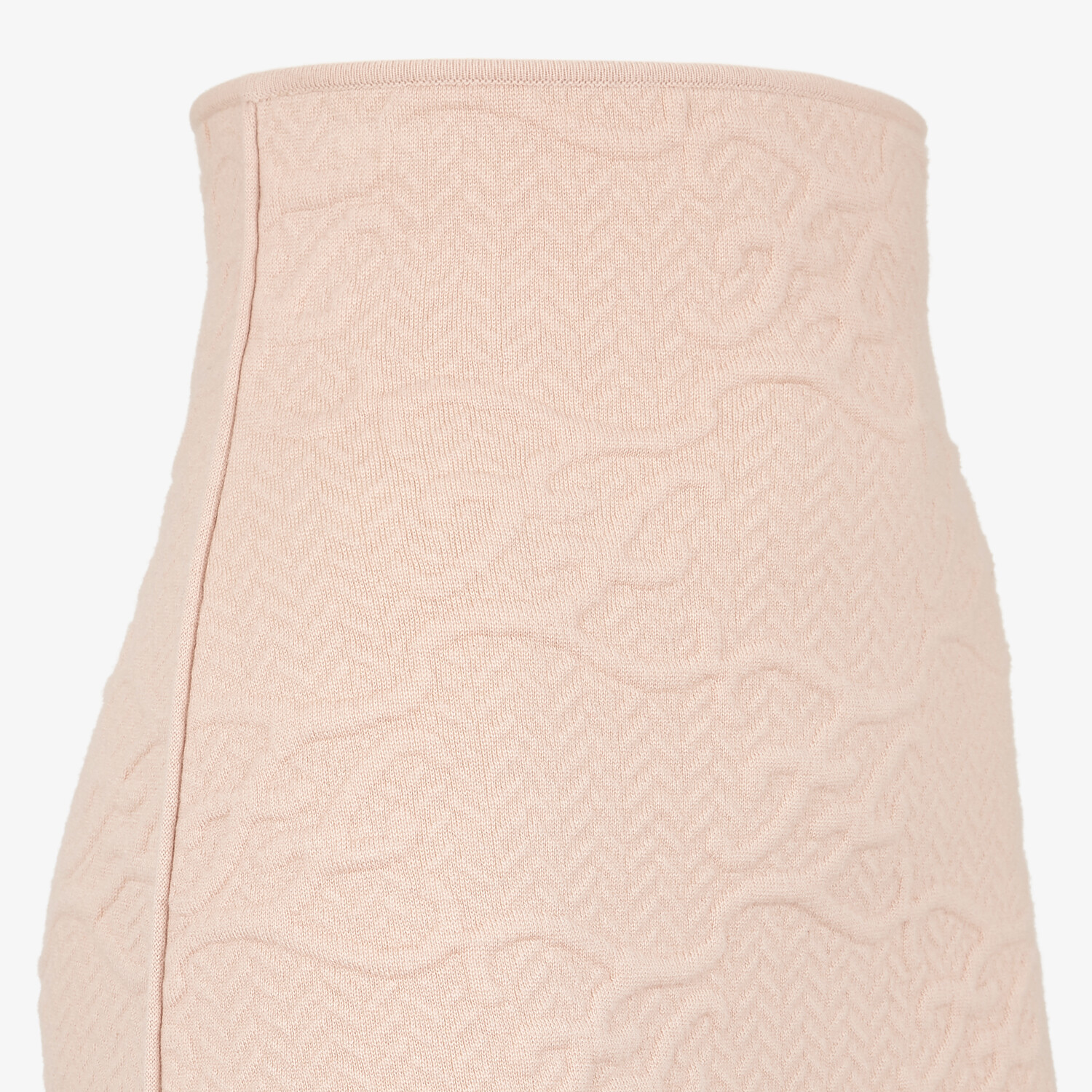 FENDI SKIRT - Pink wool and cashmere skirt - view 3 detail