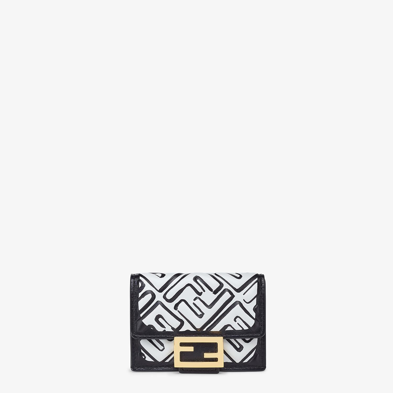FENDI マイクロ 三つ折り財布 - ホワイトナッパレザー 財布 - view 1 detail