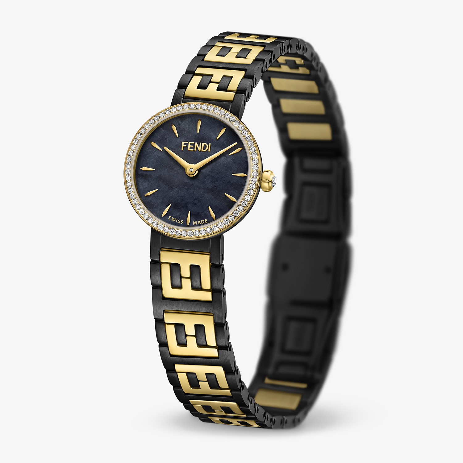 FENDI FOREVER FENDI - 19 MM - Watch with FF logo bracelet - view 2 detail