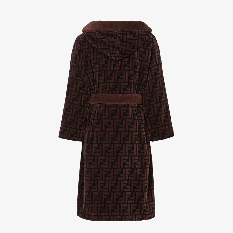 FENDI 浴袍 - 棕色棉質浴袍 - view 2 detail