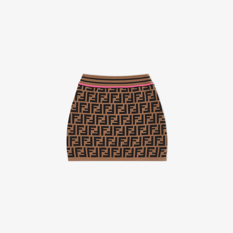 FENDI KNITTED JUNIOR SKIRT - Knitted junior skirt - view 1 detail