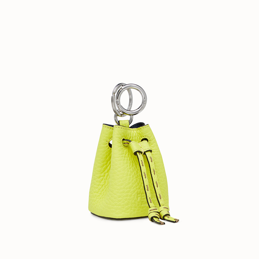FENDI NANO MON TRESOR CHARM - Fendi Roma Amor leather charm - view 1 detail